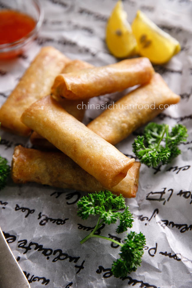 Chinese spring rolls|chinasichuanfood.com