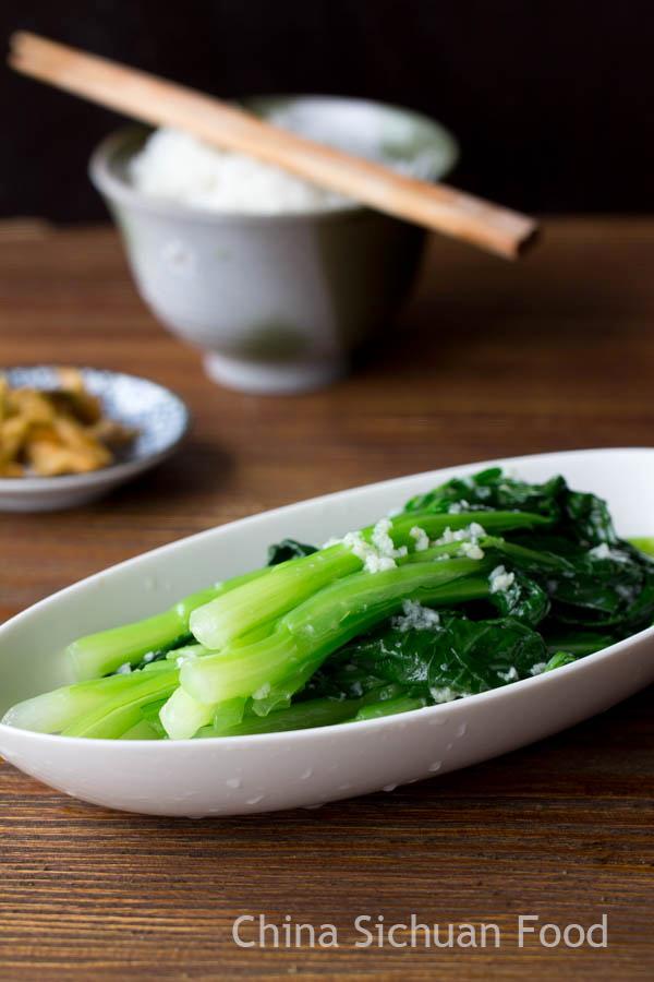 Yu Choy Stir Fry