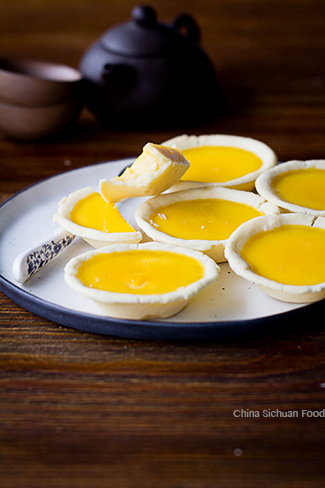 egg tart recipe-Hong Kong style