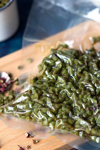 fresh green peppercorn
