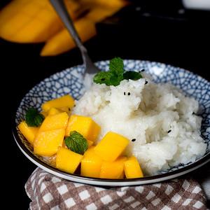 Thai Sticky Rice Recipe with Mango
