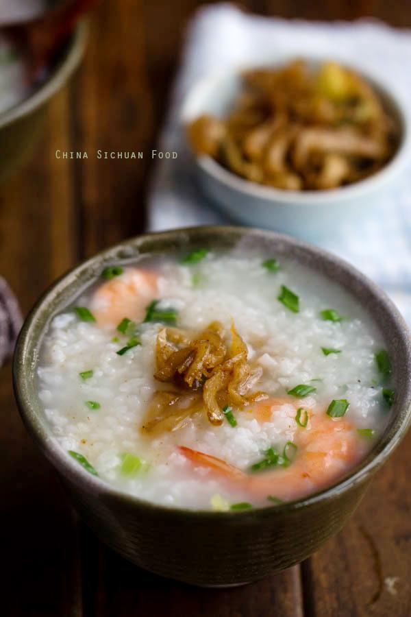 how to cook chinese porridge