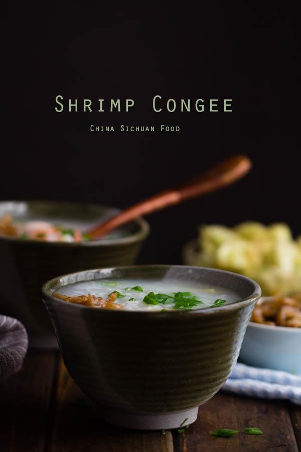 Chinese Shrimp Congee
