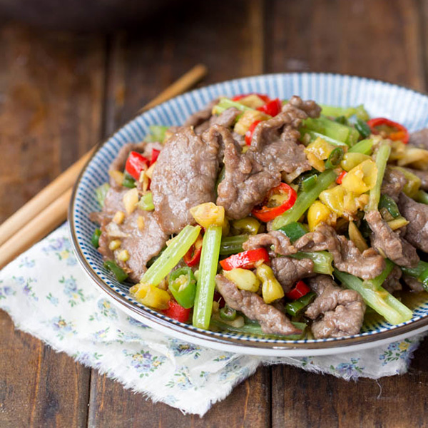 Hunan Beef A Spicy Beef Stir Fry Popular Across The