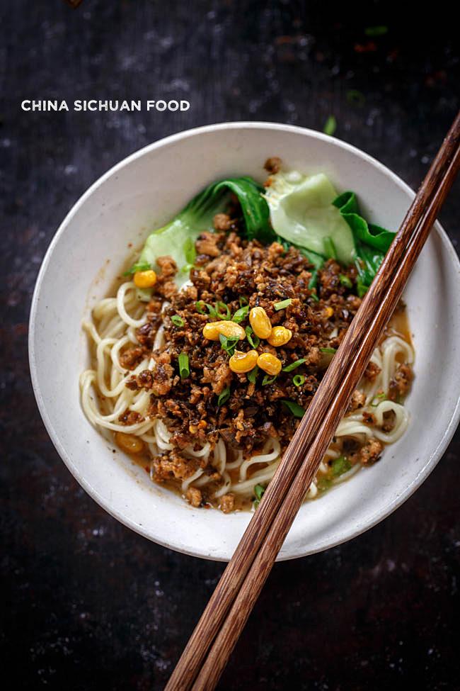 dan dan noodles | chinasichuanfood.com
