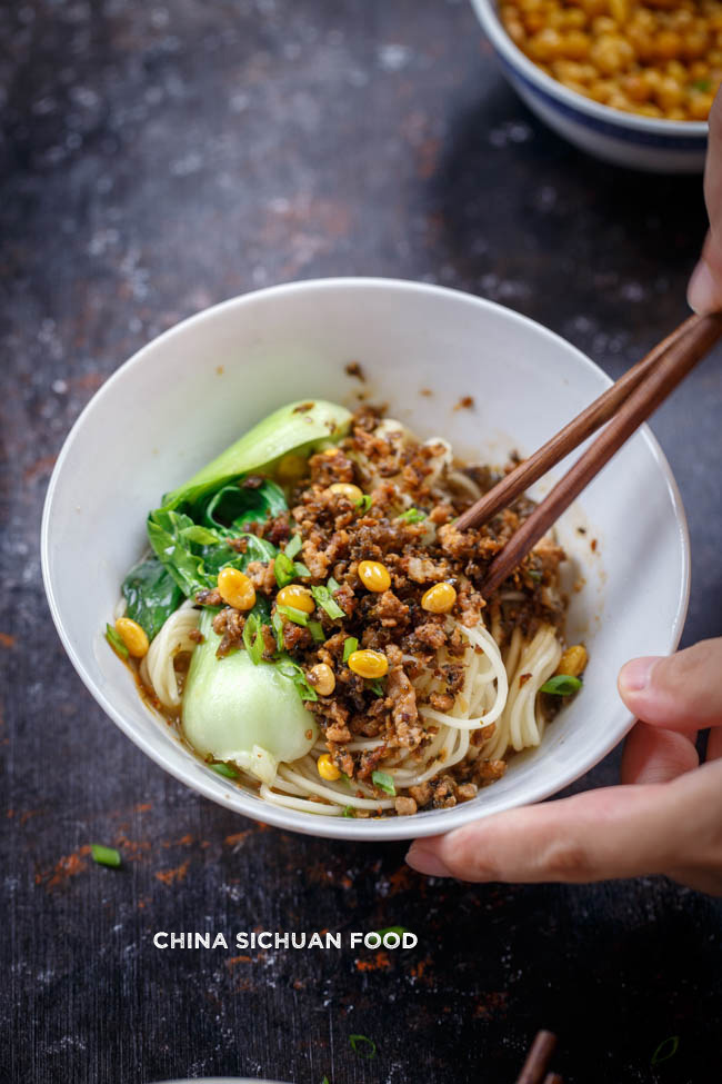 dan dan noodles| chinasichuanfood.com