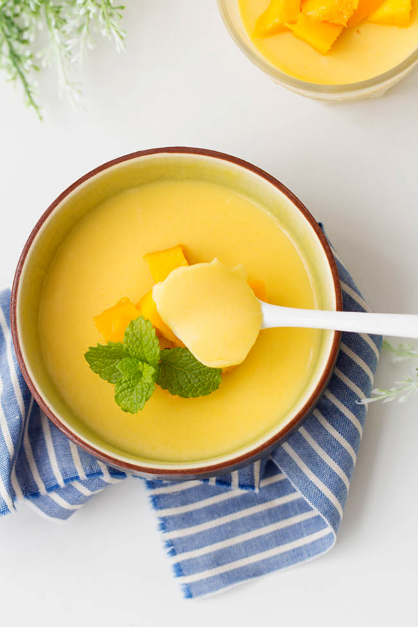 Chinese Food Recipes For Mango Pudding