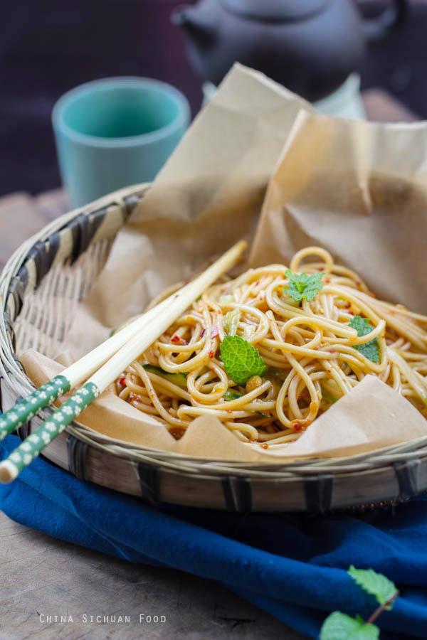 szechuan cold noodles
