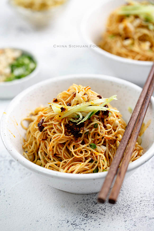 Sichuan cold noodles|chinasichuanfood.com