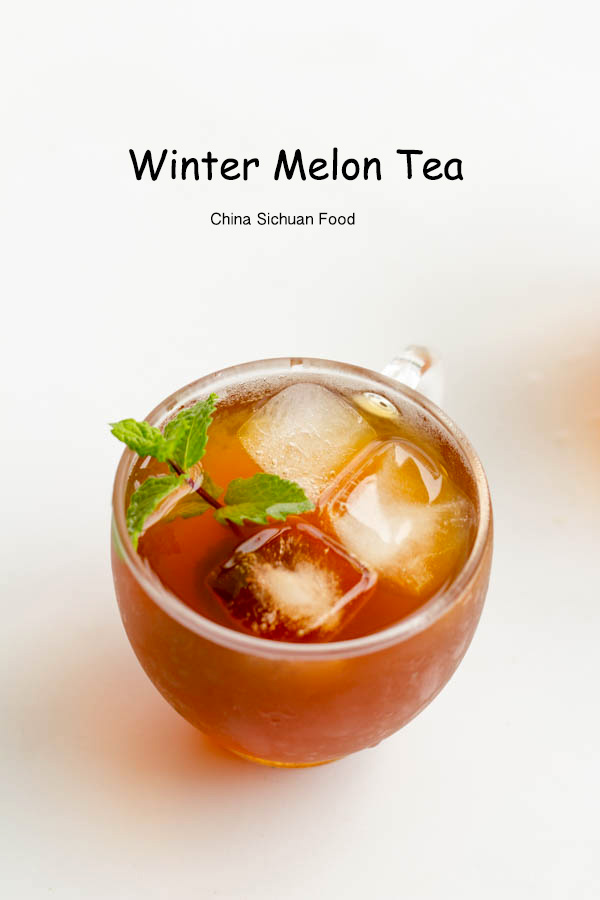 healthy winter melon tea