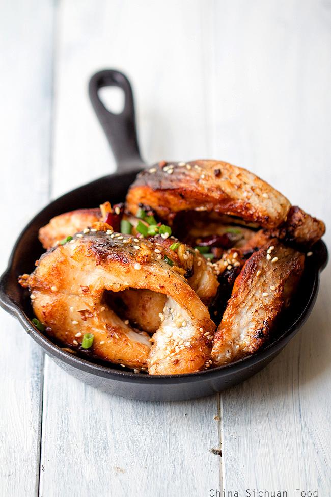 Skinny Chinese Pan-Fried Fish