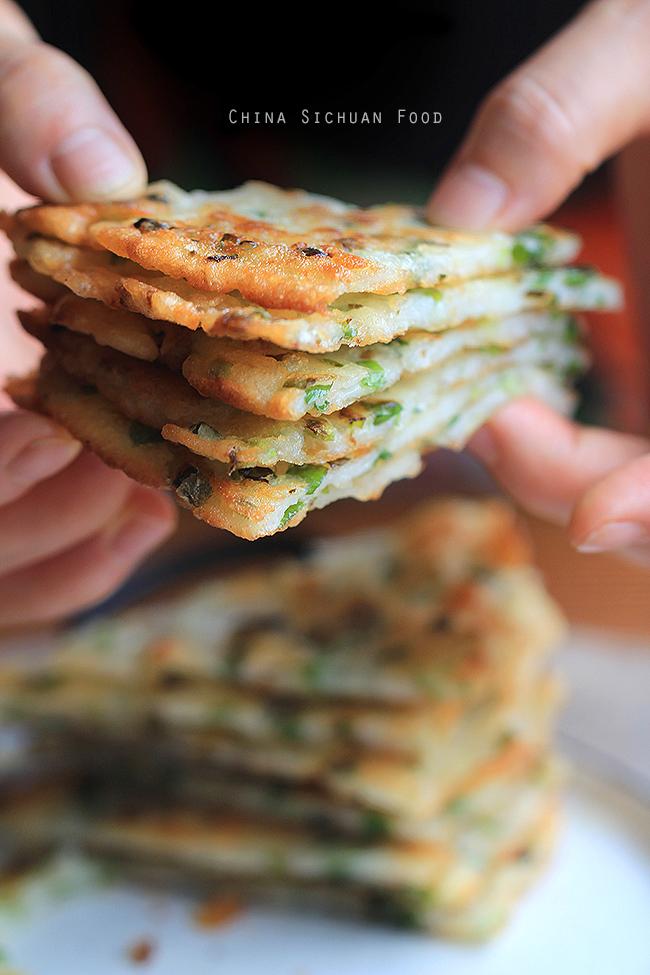 Easy Chinese Scallion Pancake