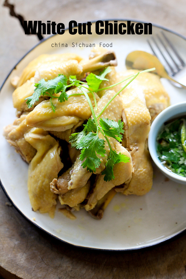 Chinese Poached Chicken   12 Chinese New Year Food Ideas