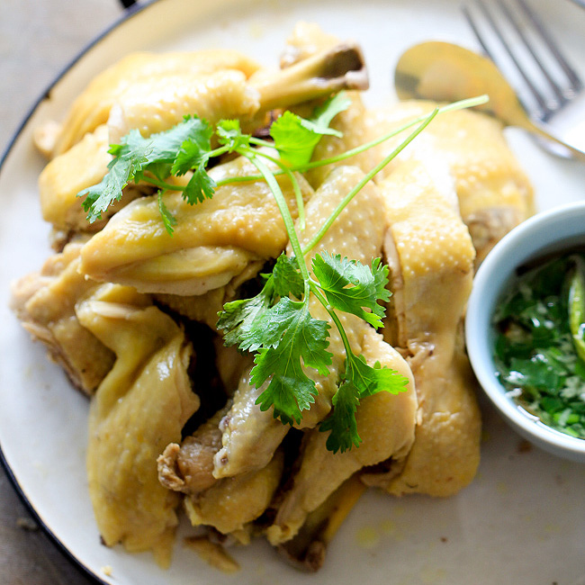 White Cut Chicken|Chinese Poached Chicken – China Sichuan Food