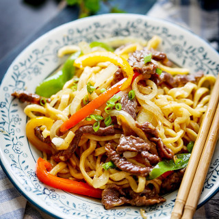 beef chow mein |China Sichuan Food