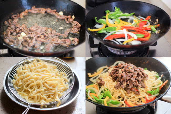 beef chow mein | China Sichuan Food