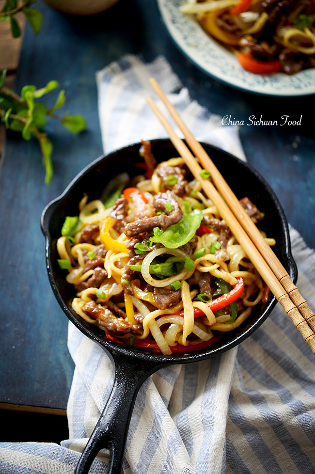 beef chow mein| China Sichuan Food