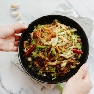 sweet potato noodle with cabbage|chinasichuanfood.com
