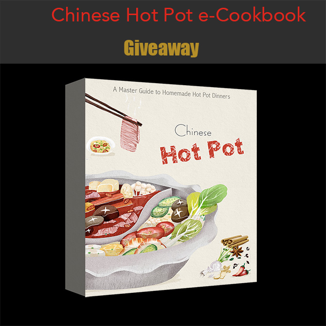 Chinese Hot Pot Cookbook Giveaway
