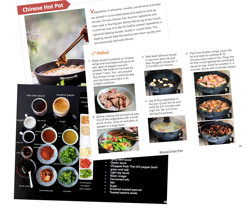 Chinese hot pot cookbook