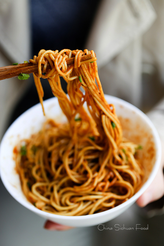 Hot and Dry Noodles – Wuhan Noodles – China Sichuan Food
