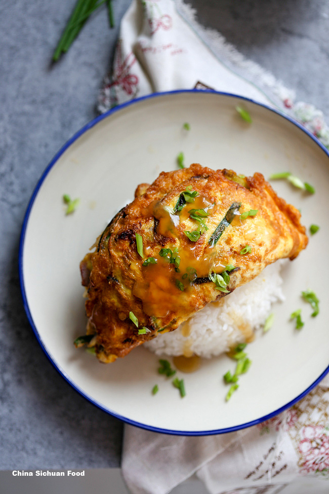 Chinese egg foo young