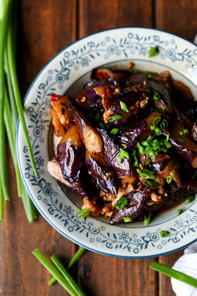 China sichuan food chinese recipes and eating culture chinese eggplants with minced pork forumfinder Choice Image