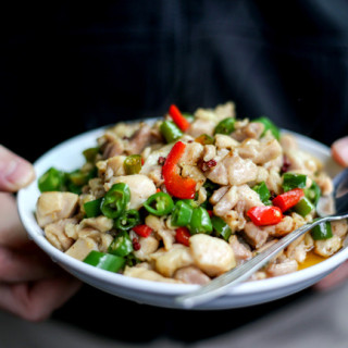 Szechuan Fresh Pepper Chicken