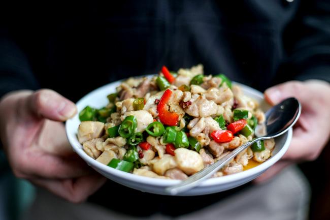 Szechuan Fresh Pepper Chicken