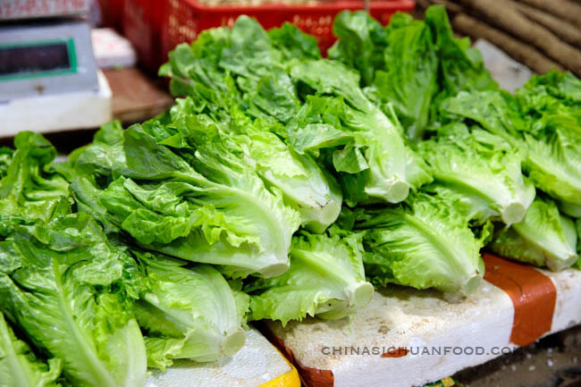 Lettuce |chinasichuanfood.com