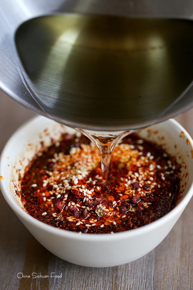 Chinese chili oil