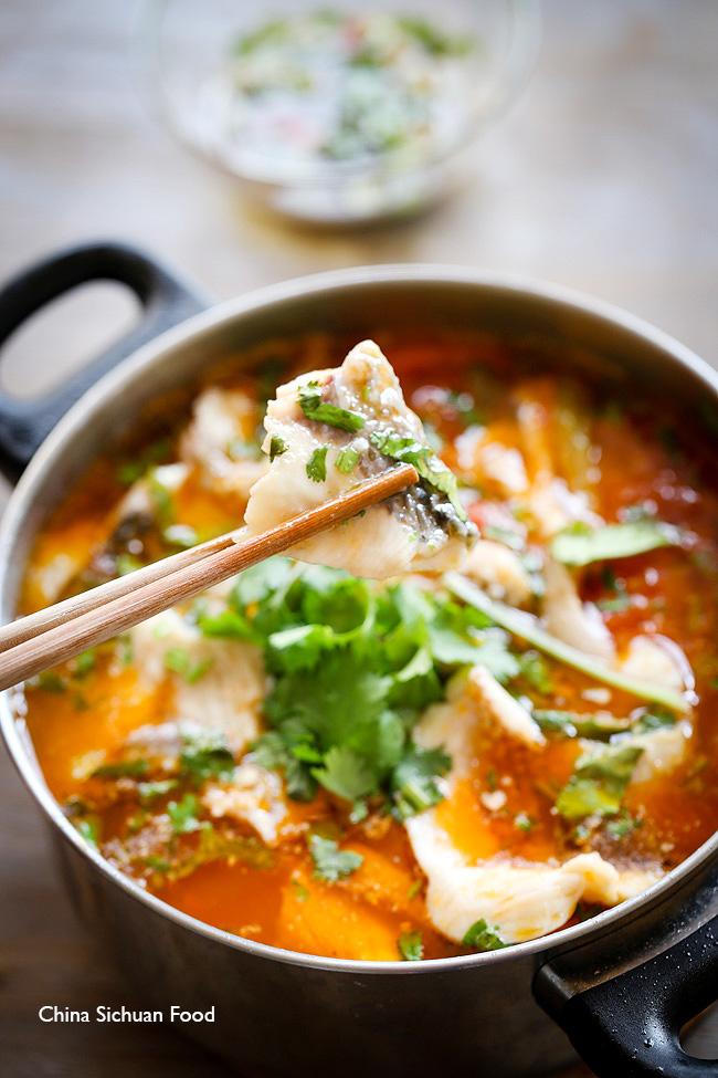 Chinese Tomato Fish China Sichuan Food