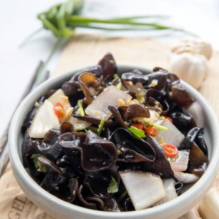 wood ear mushroom salad|chinasichuanfood.com