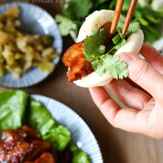 Hoisin Pork with Steamed Buns (Gua Bao) | China Sichuan Food