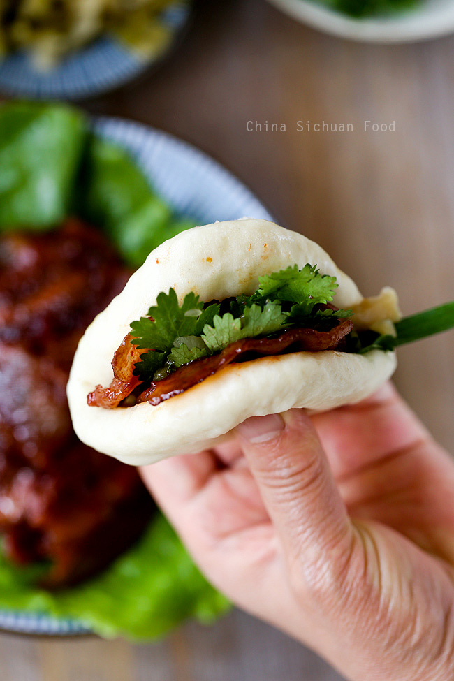 Hoision Pork With steamed buns