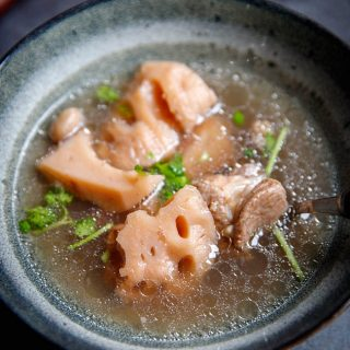 Lotus Root Soup with Pork Ribs