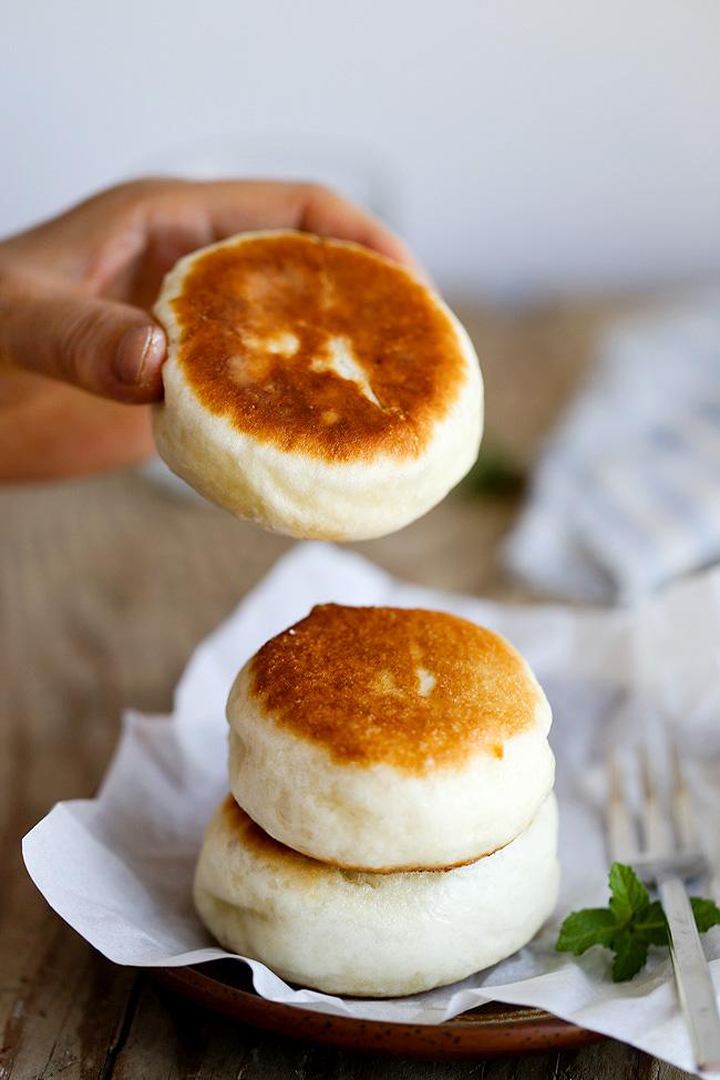 pan-fried Chinese buns
