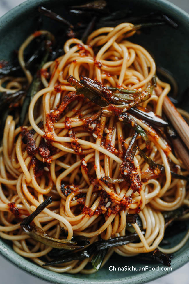 scallion oil noodles|chinasichuanfood.com