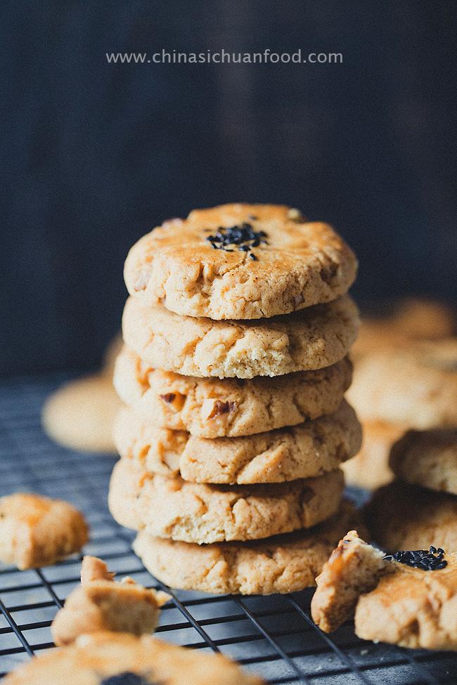 Chinese walnut cookie