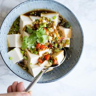 Cold Tofu (Liangban Tofu)