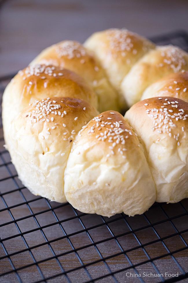 milk bread-China Sichuan Food