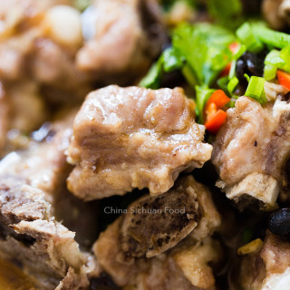 Chinese Steamed Ribs with Black Bean