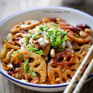 kung pao lotus roots
