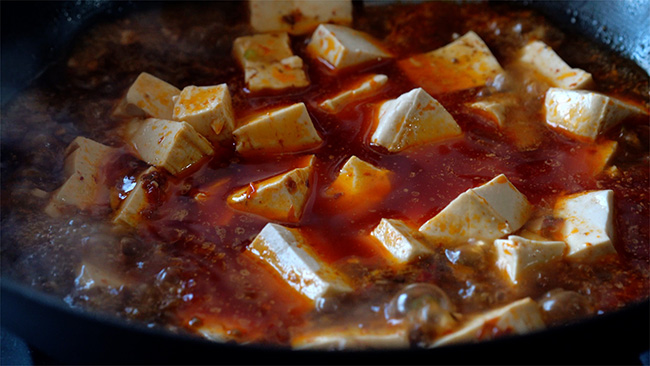 authentic Mapo tofu|chinasichuanfood.com