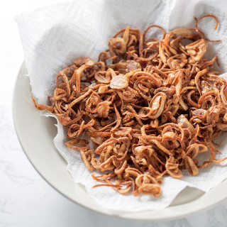 fried crispy shallots|China Sichuan Food