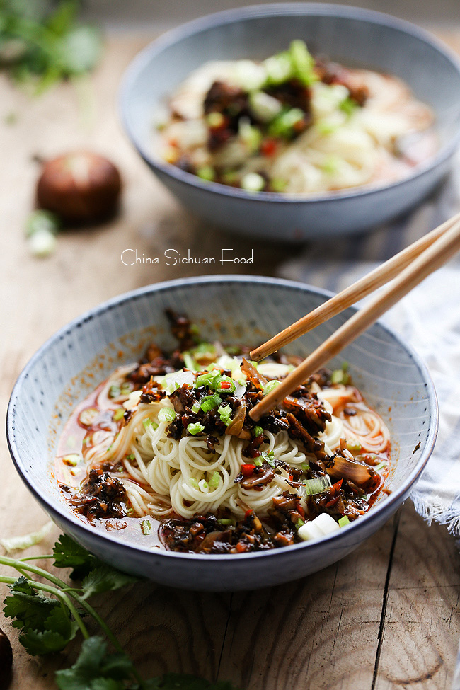 vegan dan dan noodles|China Sichuan Food