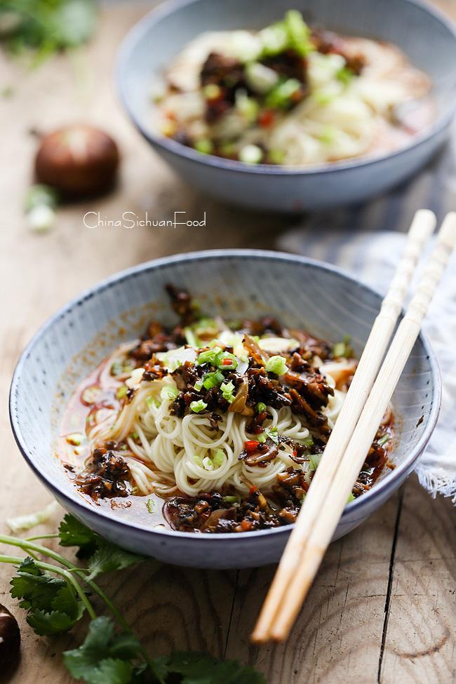 vegan dan dan noodles|China Sichuan Food