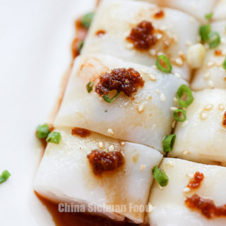 Cheung Fun (Steamed Rice Noodles)
