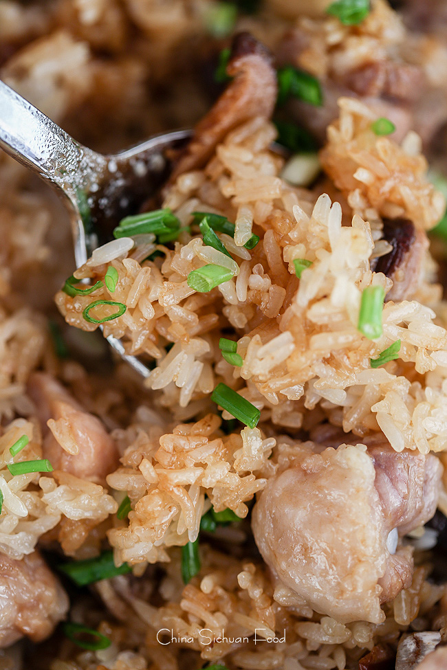 Chinese sticky rice with ribs