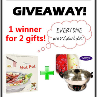 {Closed}Hot Pot Cooker and e-Cookbook Giveaway (Worldwide)